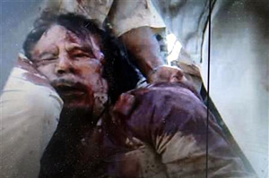 gaddafi killed